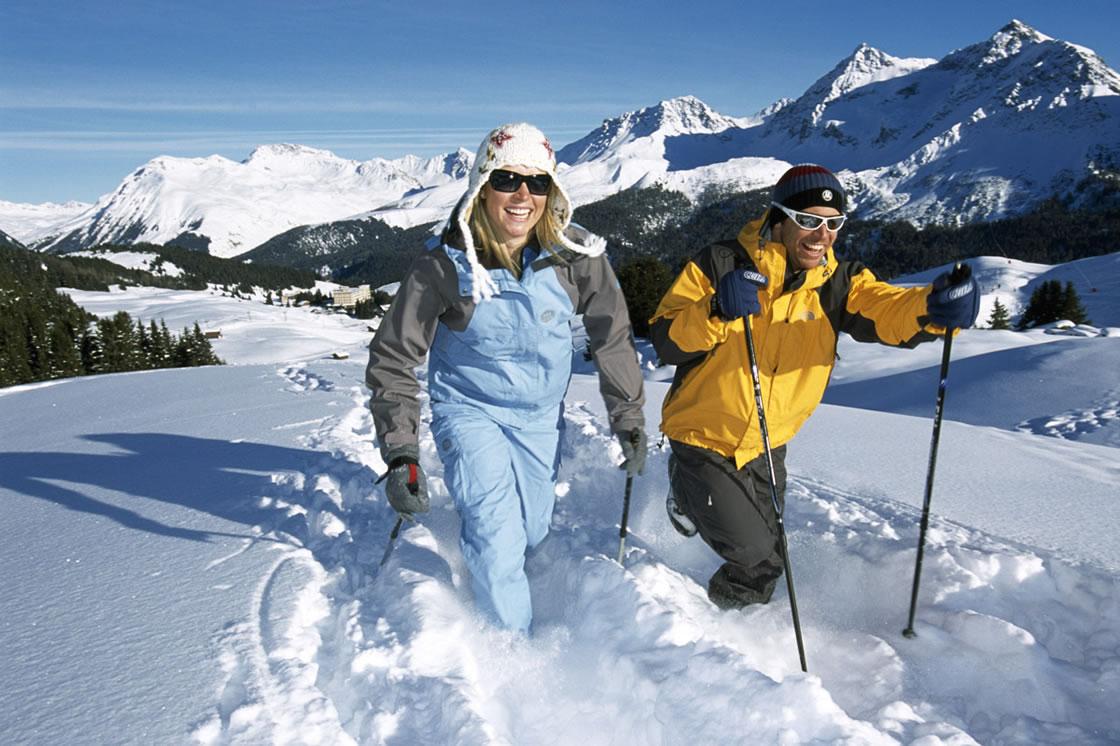 Arosa_Winter_Schneeschuhwandern