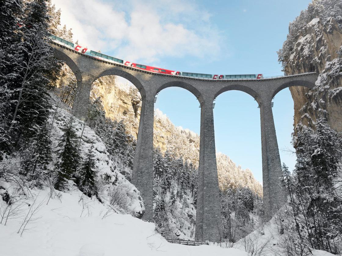 Bahnurlaub mit dem Glacier Express