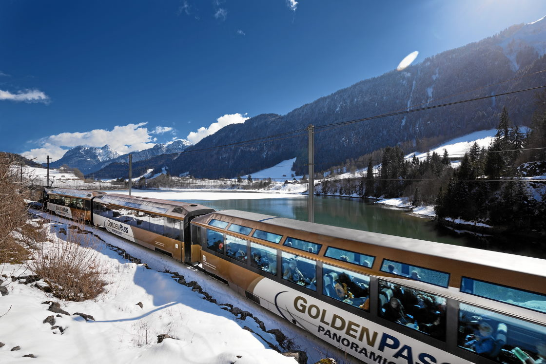 Bahnurlaub mit dem GoldenPass