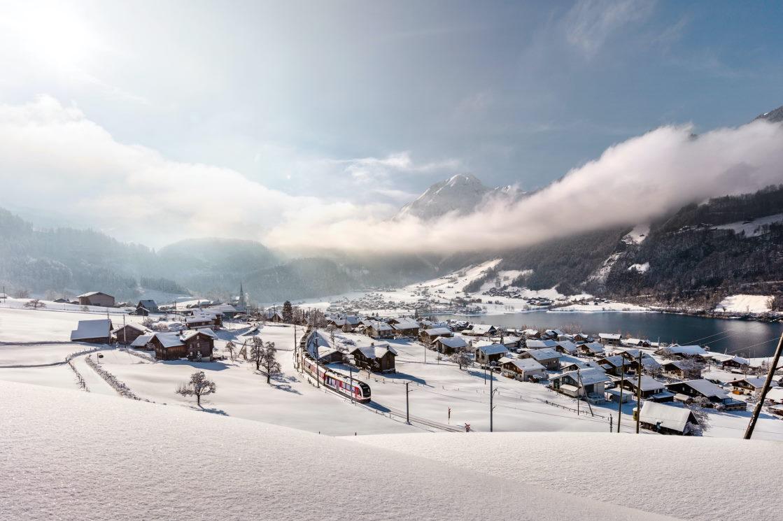 Bahnurlaub mit dem Luzern-Interlaken Express