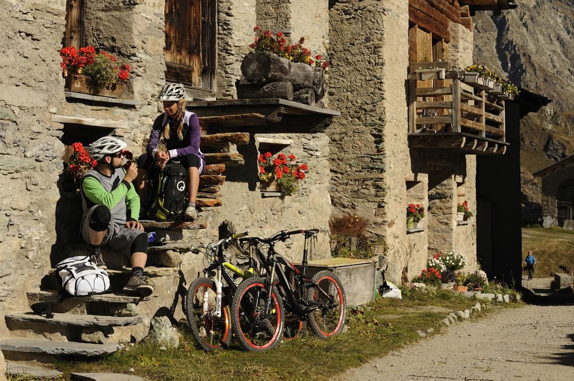 Radwandern in Graubünden