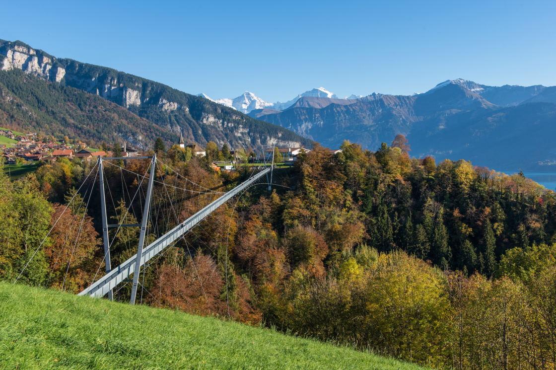 Wanderung über die Panoramabrücke Sigriswil
