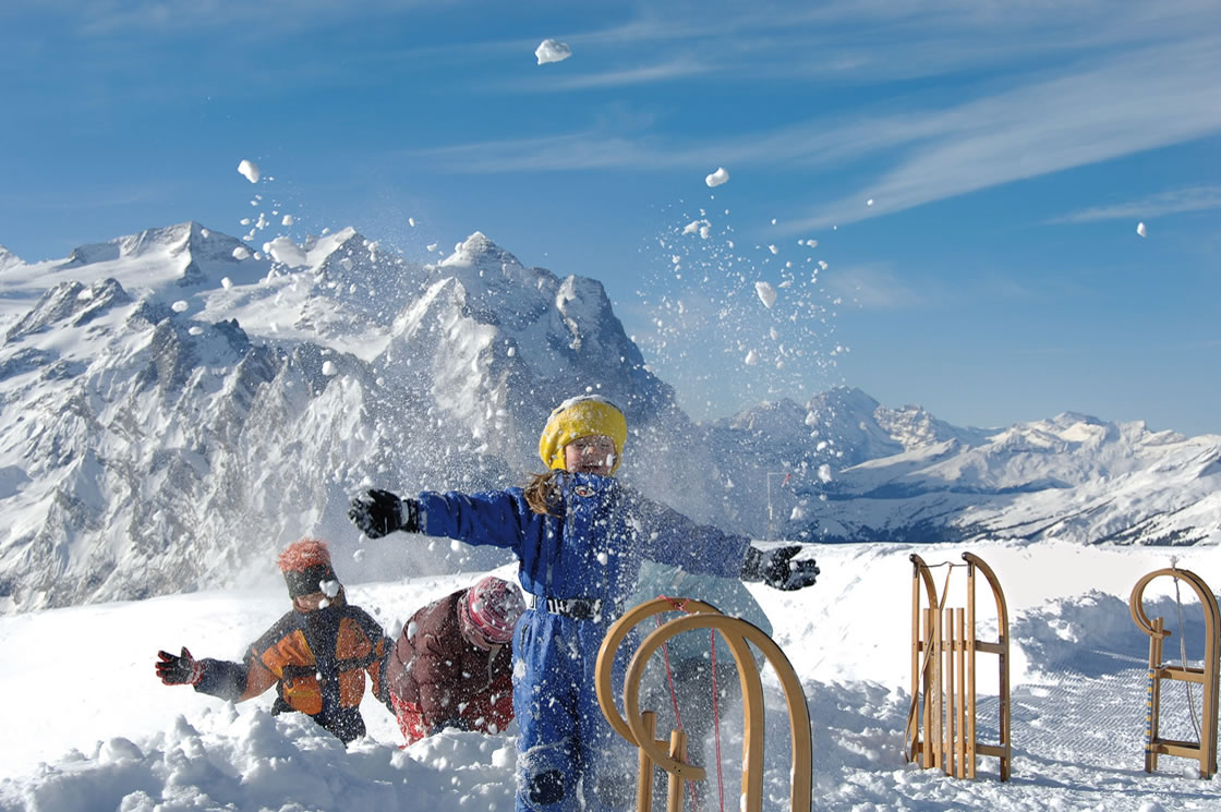 Winterurlaub mit Famlie und Kindern