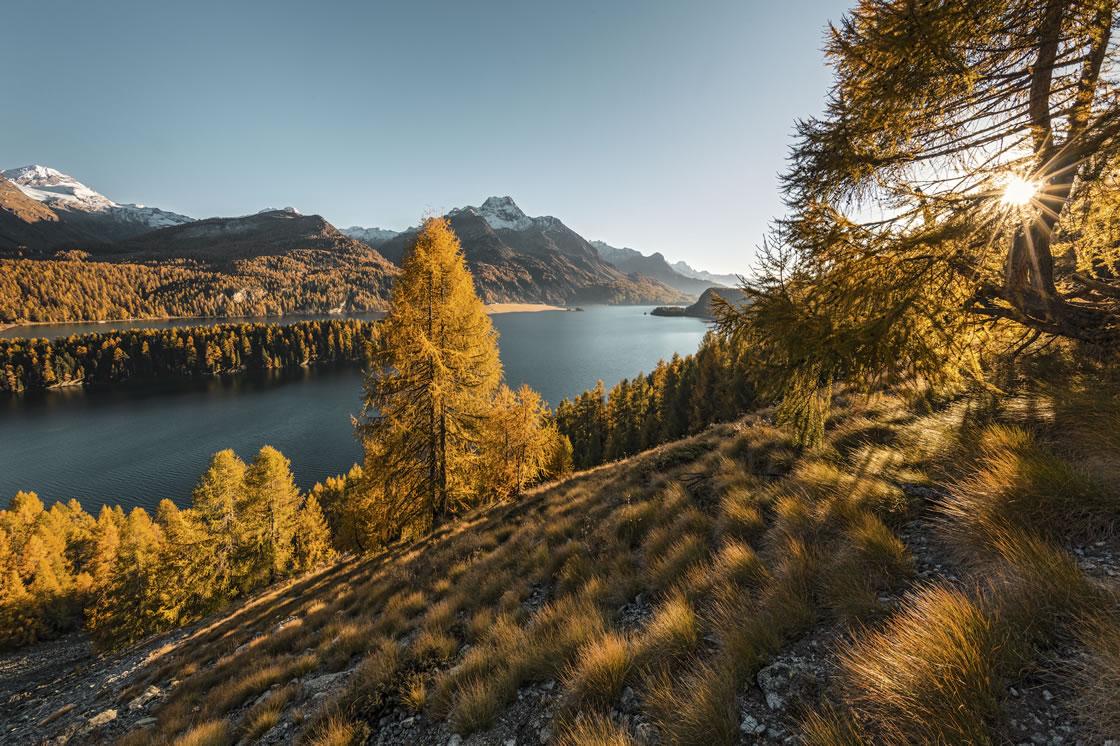 herbst wandern alpen schweiz