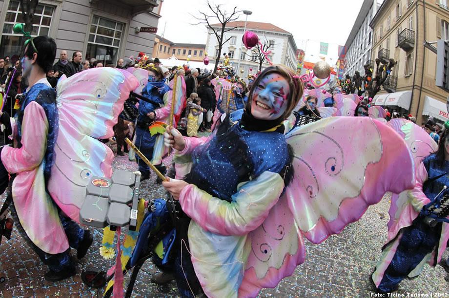 Fasching Karneval in der Schweiz