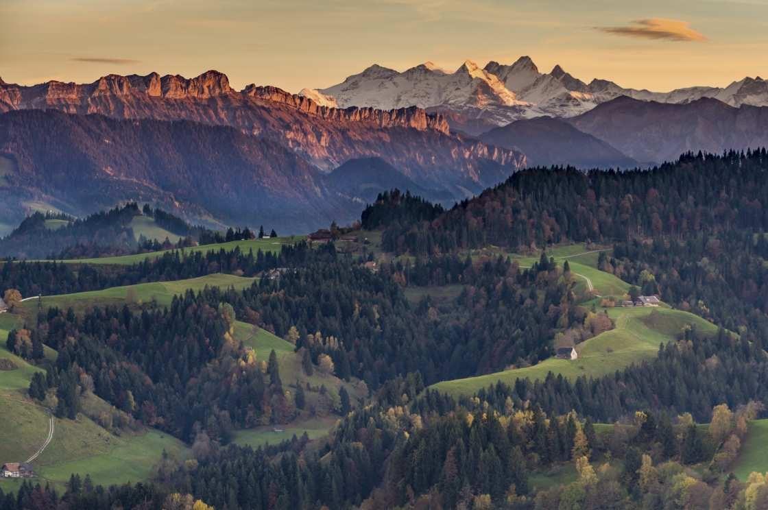 Herbststimmung Napfregion Schweiz