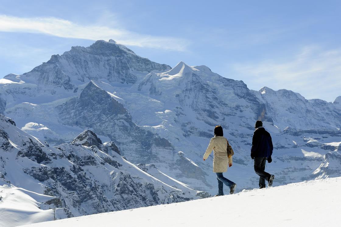 Schweiz Schneeschuhtouren