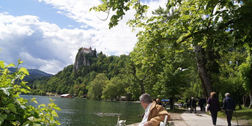 Urlaub Slowenien Alpenstadt Bled
