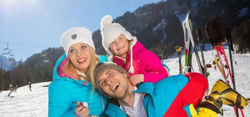 Super Skigebiete in Kranjska Gora, Julische Alpen