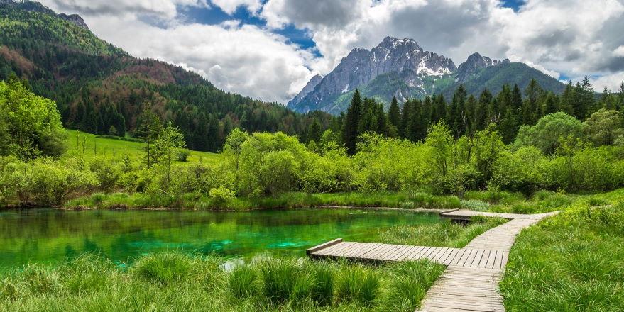 Naturerlebnisse in Slowenien, Julische Alpen