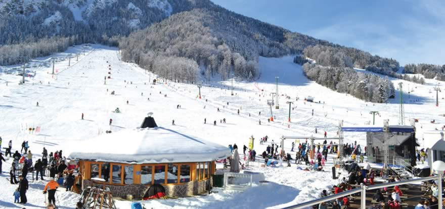 Für alle, die Lust zum Skifahren haben! Skigebiete Slowenien