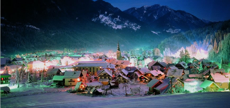Weihnachten in Slowenien verbringen