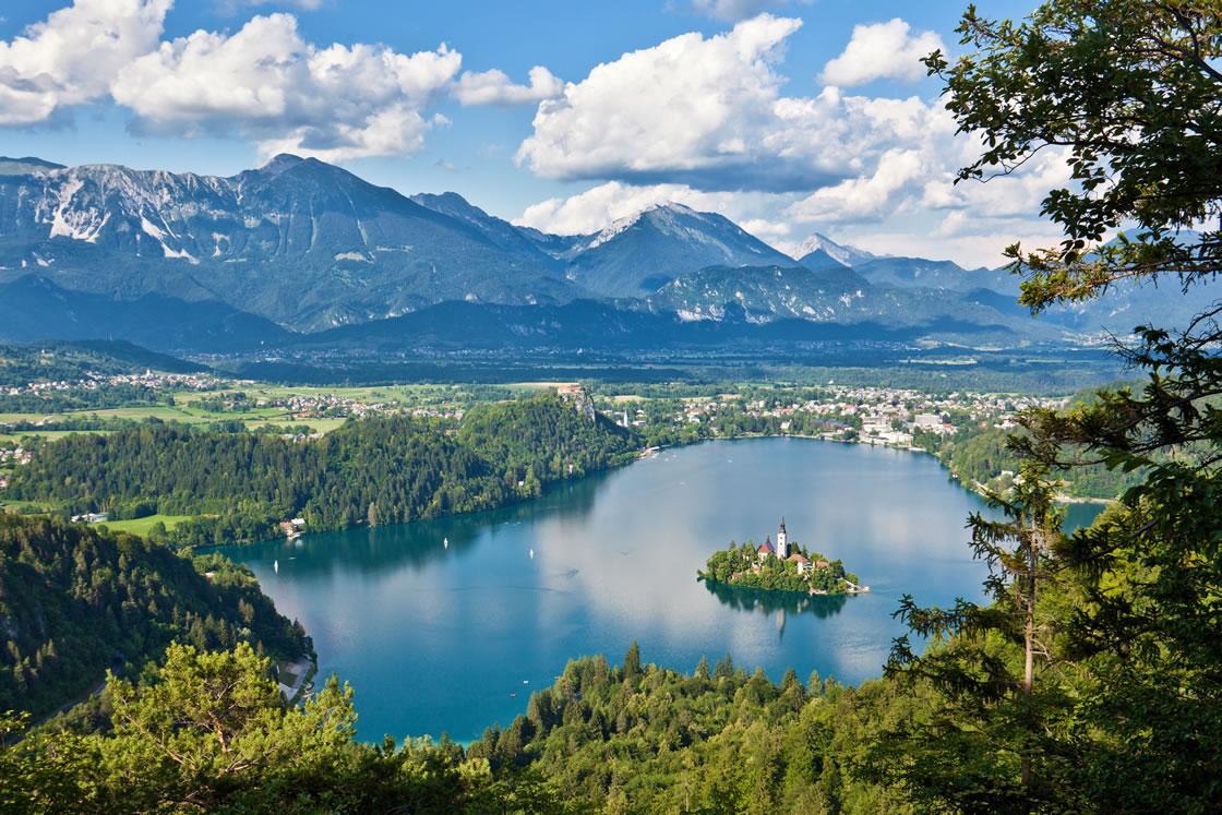Alpenregionen Slowenien Bled
