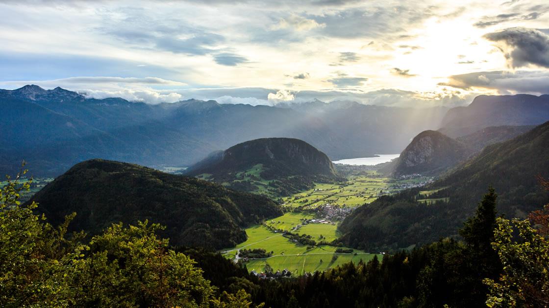 Alpenregionen Slowenien; Bohinj