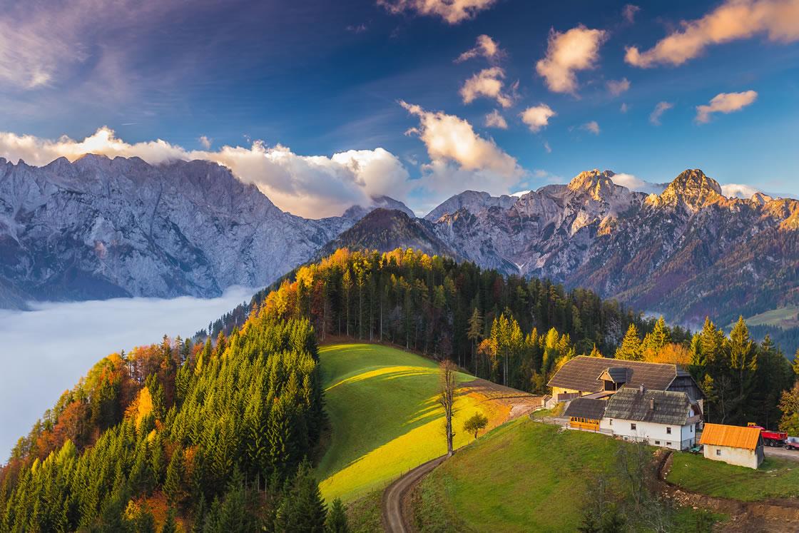 Alpenregionen Slowenien, Oberes Savinja Tal