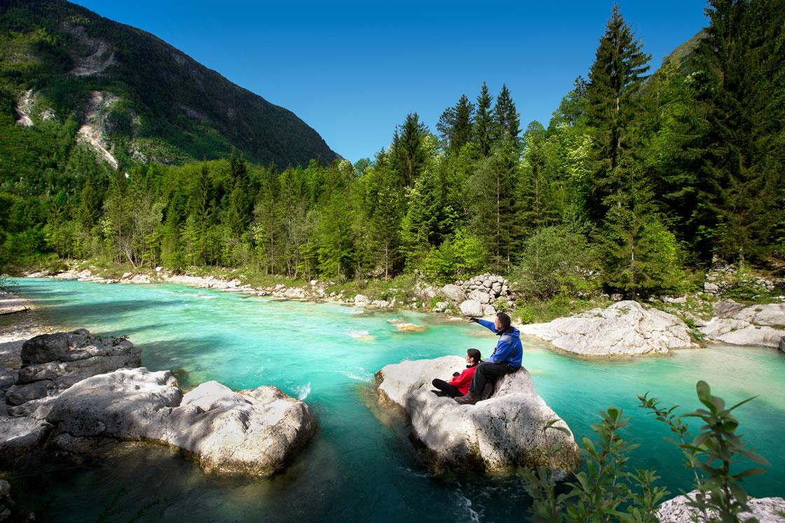 Alpenregionen Slowenien, Soca Tal