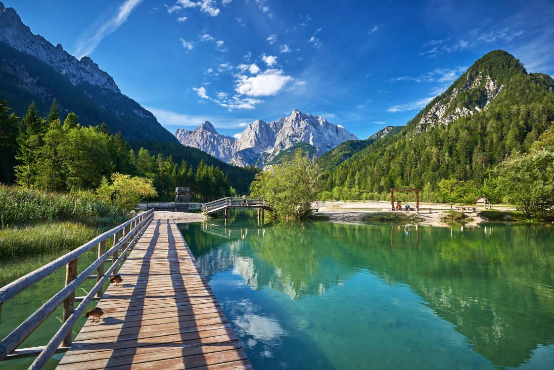 baden lake jasna in kranjska gora