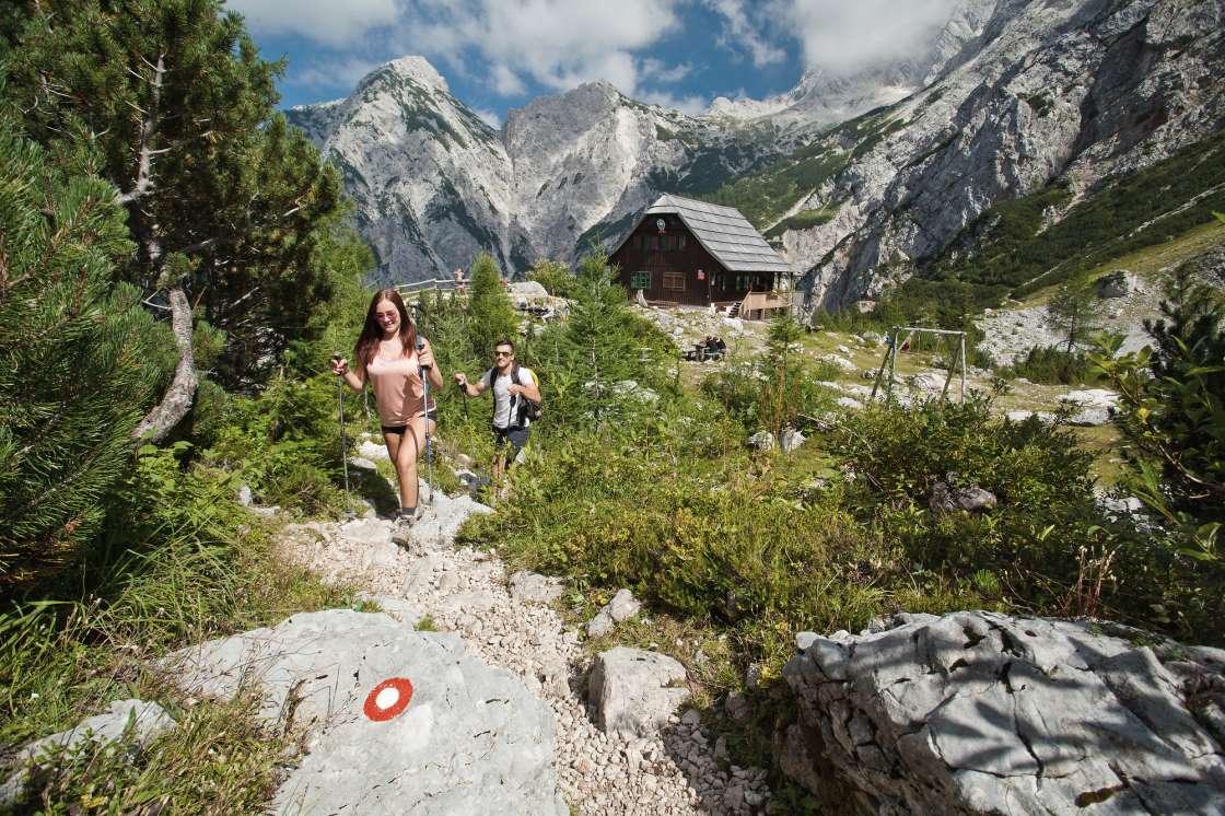 Tschechische Hütte Slowenien