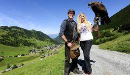 Wandern Liechtenstein, Auf Du und Du mit dem Habicht