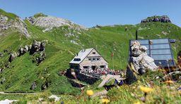 Wandern in Liechtenstein zur Pfälzerhütte