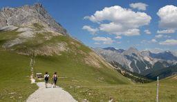 Wandern im Schweizer Nationalpark
