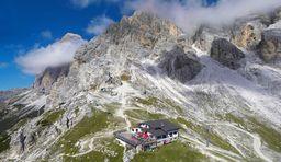 Alpenglühen in Cortina