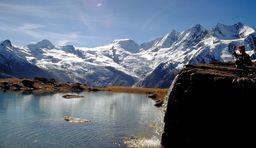 Saas Fee_Gletscher_See